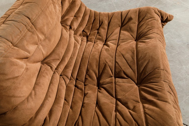 'Togo' Loveseat Sofa by Michel Ducaroy for Ligne Roset, Signed 7