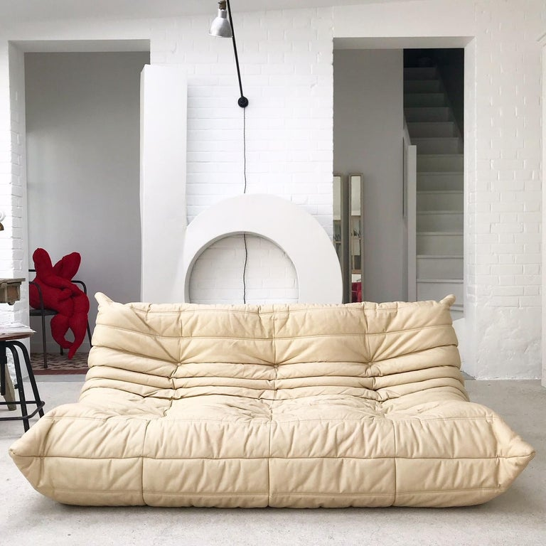 Vintage sofa, for three persons, model