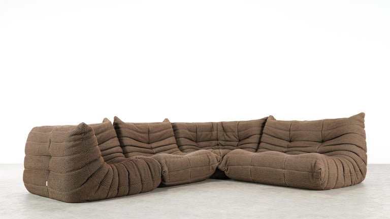 Togo Sofa / Livingroom Seatgroup by Michel Ducaroy for Ligne Roset For Sale 3
