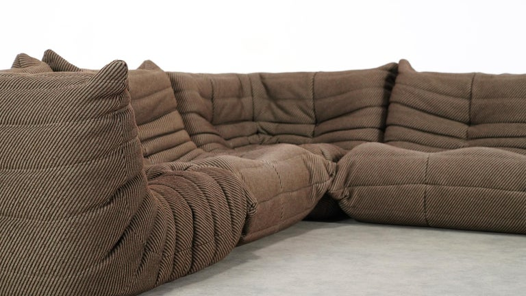 Togo Sofa / Livingroom Seatgroup by Michel Ducaroy for Ligne Roset For Sale 6