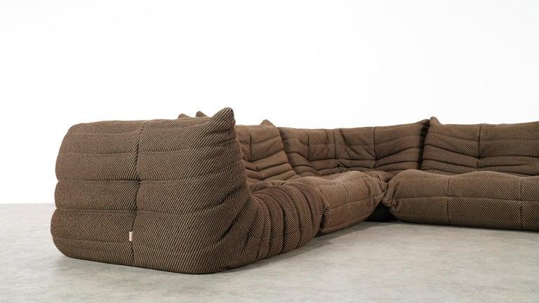 Togo Sofa / Livingroom Seatgroup by Michel Ducaroy for Ligne Roset For Sale 7