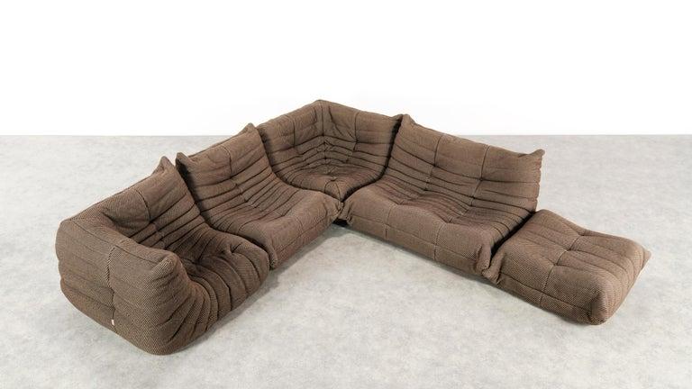 Space Age Togo Sofa / Livingroom Seatgroup by Michel Ducaroy for Ligne Roset For Sale