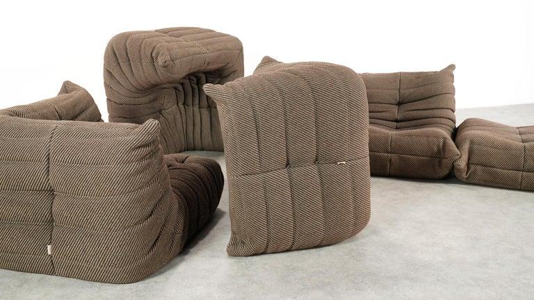 French Togo Sofa / Livingroom Seatgroup by Michel Ducaroy for Ligne Roset For Sale
