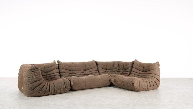 Fabric Togo Sofa / Livingroom Seatgroup by Michel Ducaroy for Ligne Roset For Sale