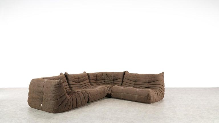 Togo Sofa / Livingroom Seatgroup by Michel Ducaroy for Ligne Roset For Sale 2