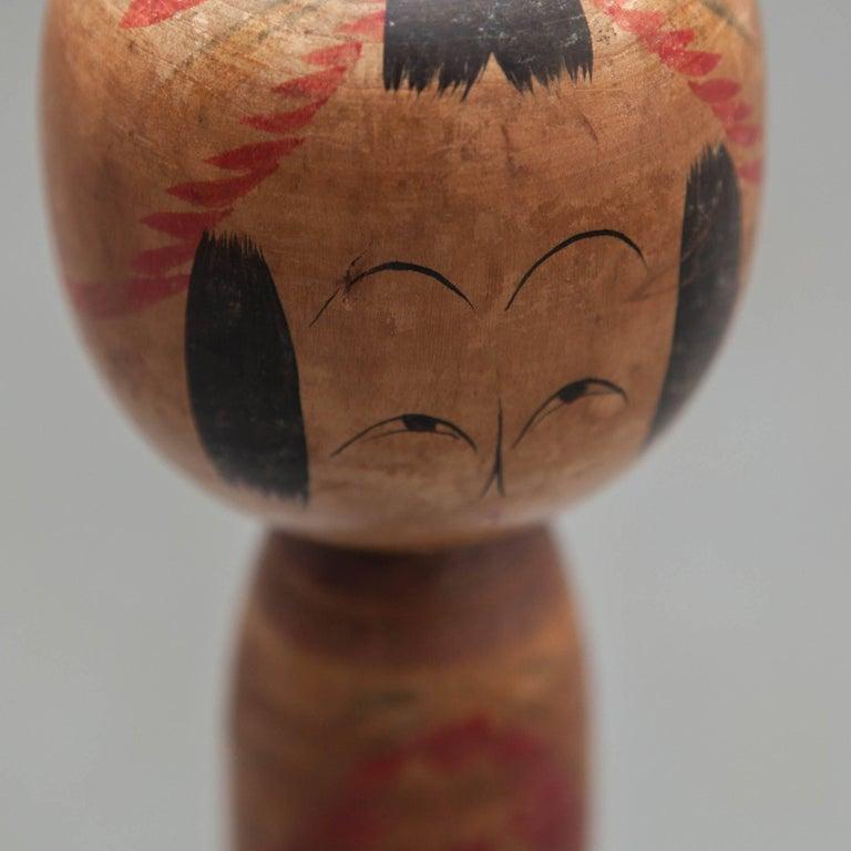 Japanese Tohgatta Kokeshi Doll For Sale