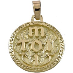 Toi and Moi Gold Charm