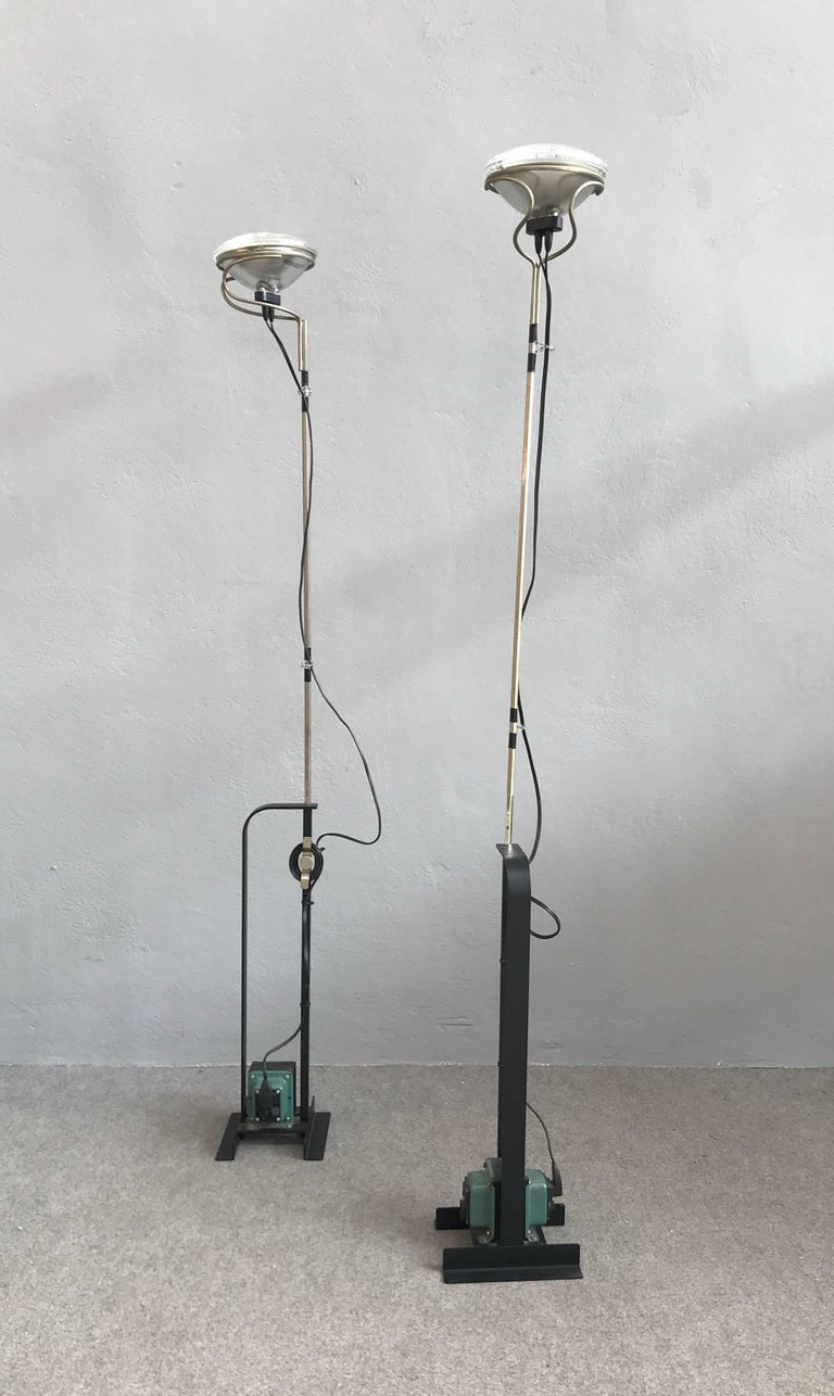 Toio Floor Lamps By Achille Castiglioni For Flos At 1stdibs