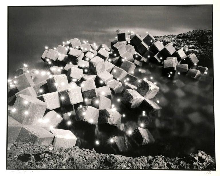 Tokihiro Sato Abstract Photograph - Photo-respiration 1998 Yura #340, Japan, Conceptual Contemporary Photography