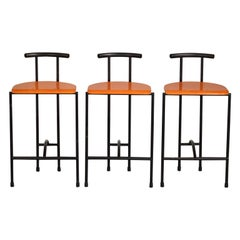 Rodney Kinsman Tokyo Bar Stools by Bieffeplast  'counter height'