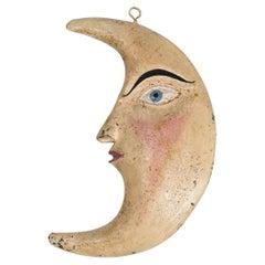 Tole Crescent Moon Face