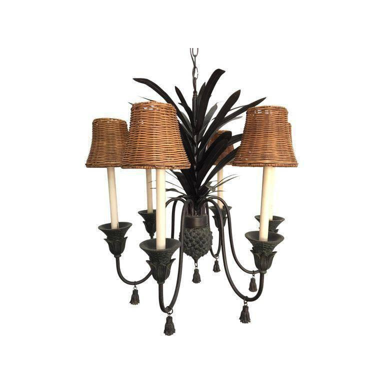 Pineapple chandelier hollywood regency style for sale at 1stdibs aloadofball Gallery