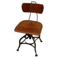 Toledo Desk Chair, Mid Century, United States