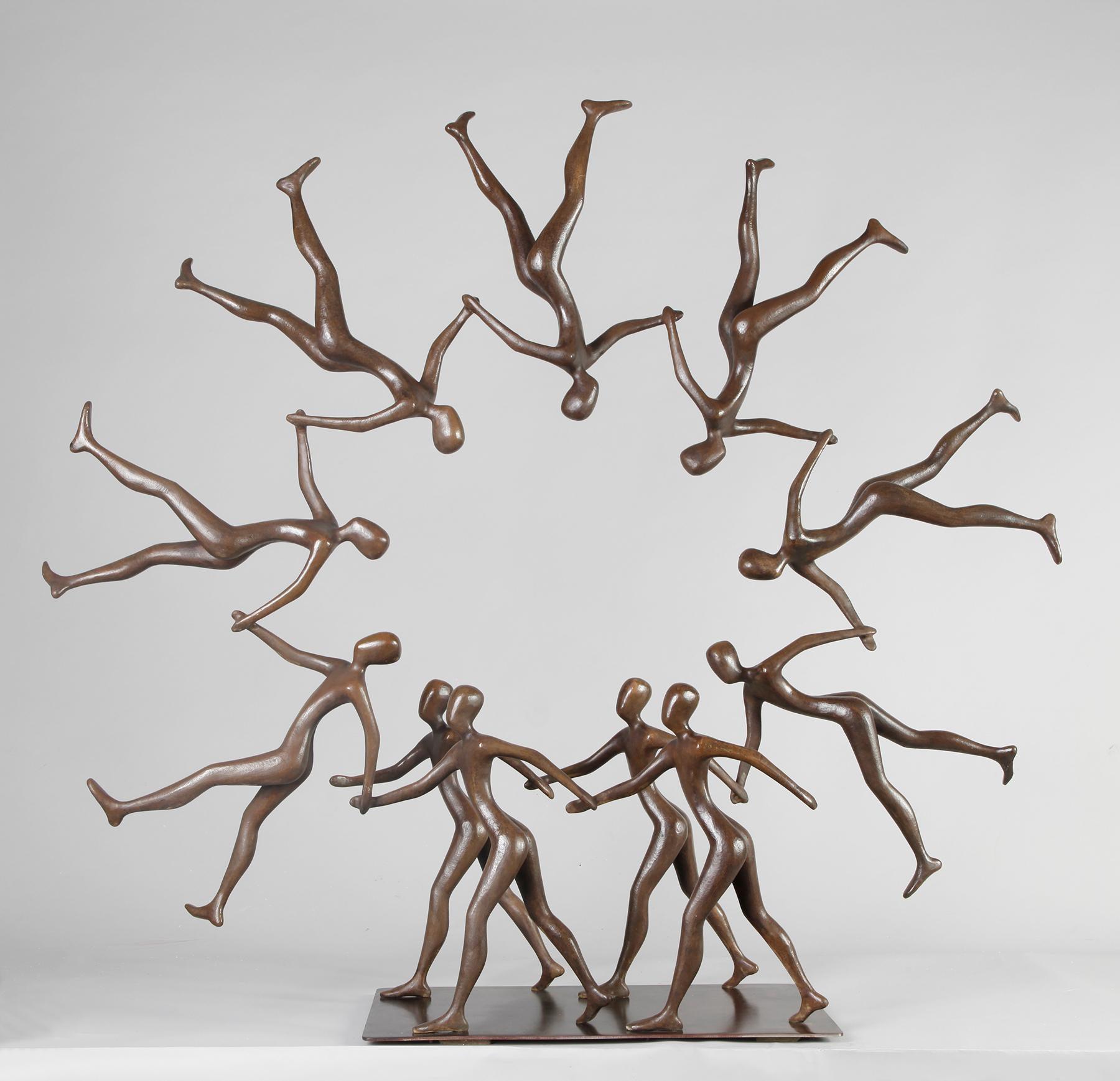 Tolla Inbar, Circle of Life, Bronze sculpture