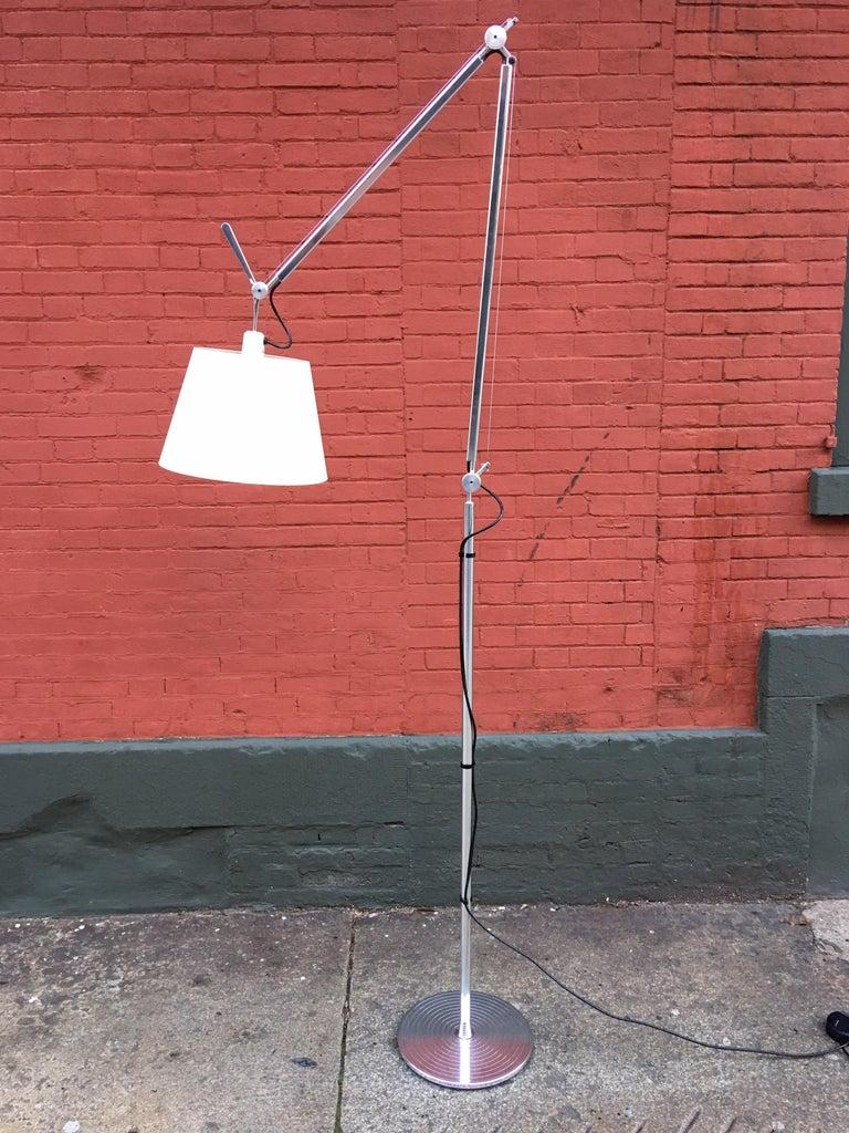 Modern Tolomeo Mega Floor Lamp by Artemide For Sale