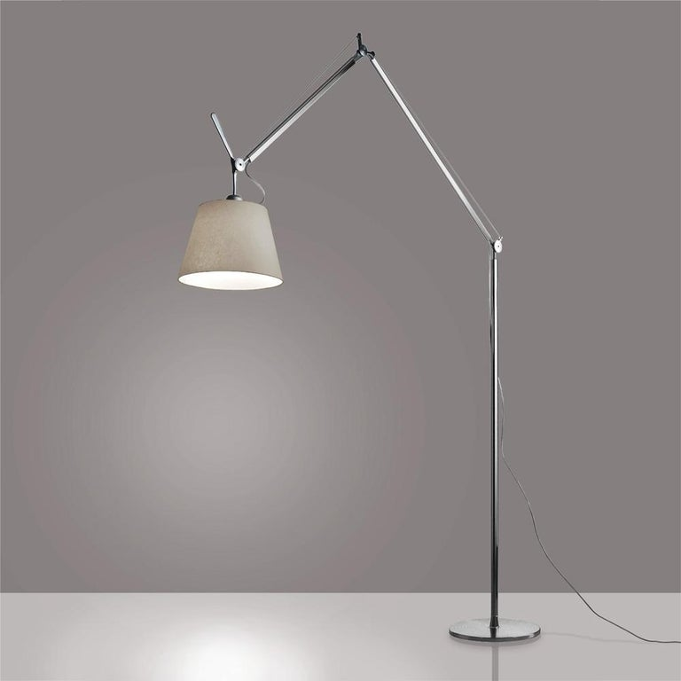Modern Tolomeo Mega Parch Floor Lamp by Michele De Lucchi & Giancarlo Fassina For Sale