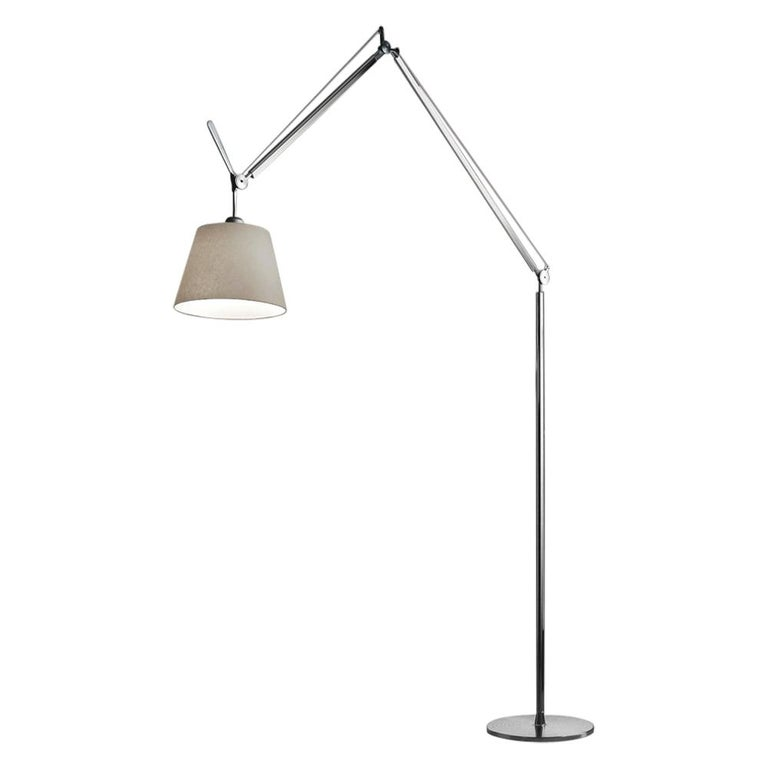 Tolomeo Mega Parch Floor Lamp by Michele De Lucchi & Giancarlo Fassina For Sale