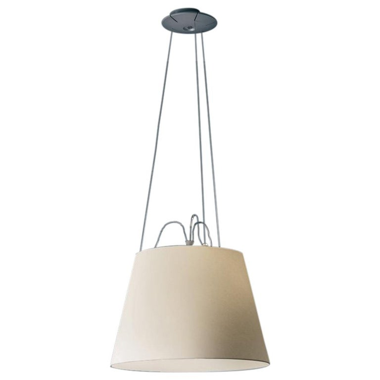 Tolomeo Mega Parch Pendant by Michele De Lucchi & Giancarlo Fassina For Sale
