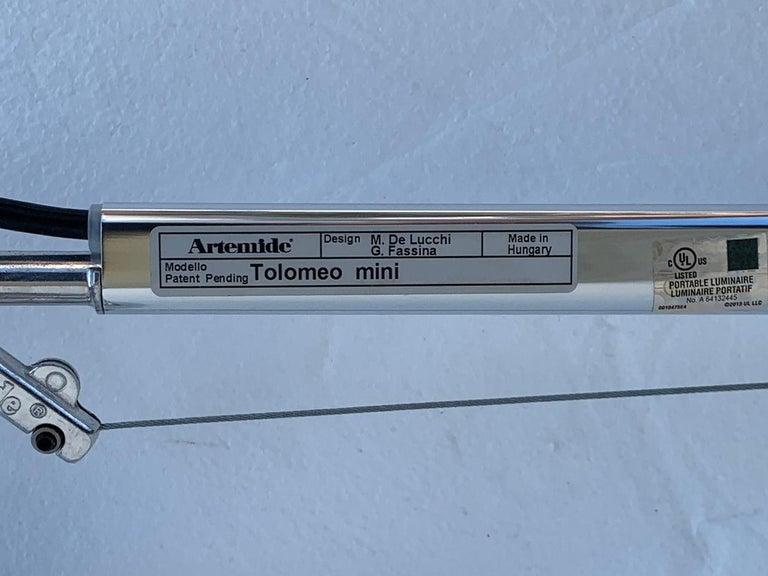 Contemporary Tolomeo Mini Wall Light by Michelle De Lucci for Artemide For Sale