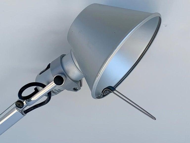 Aluminum Tolomeo Mini Wall Light by Michelle De Lucci for Artemide For Sale