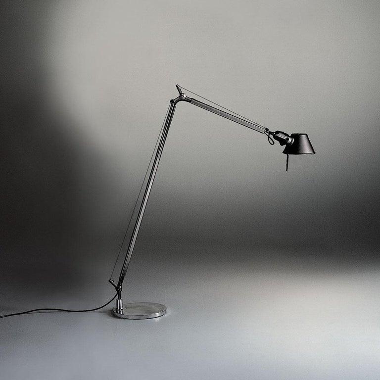 Italian Tolomeo Reading Lamp in Black by Michele De Lucchi & Giancarlo Fassina For Sale