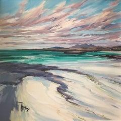 Sanna Shore - original oil sky seascape painting contemporary modern art