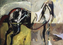 Sintra Horse, abstract, dynamic, animal, symbolism, expressionism