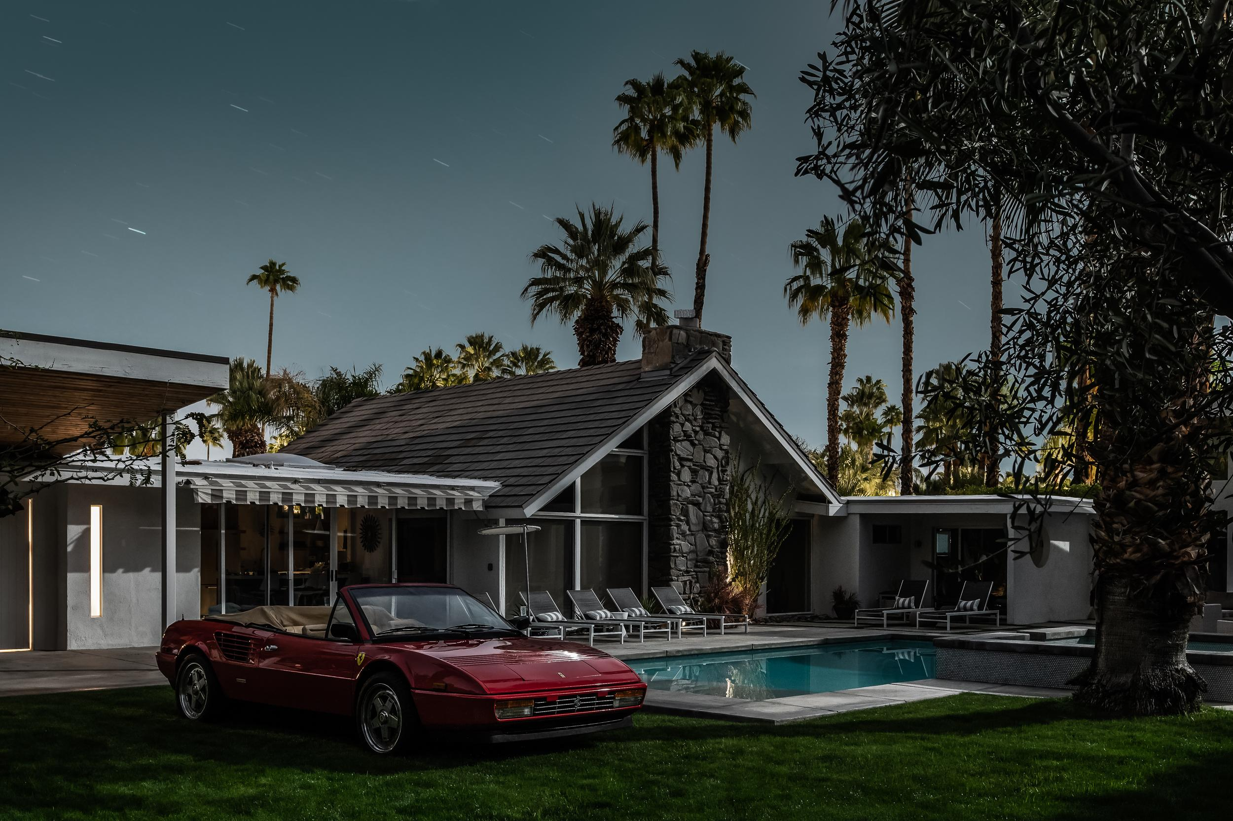 Tom Blachford Mid Century Modern Architecture Classic Ferrari