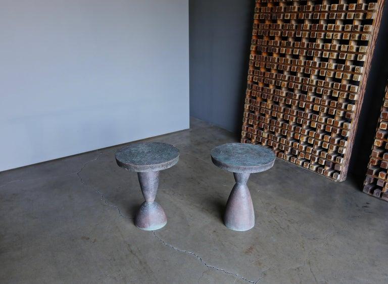 Tom Corbin Bronze Alexandra Occasional Tables 5