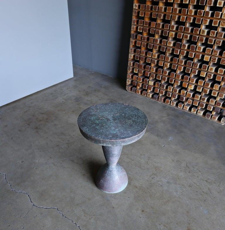 Tom Corbin Bronze Alexandra Occasional Tables 6