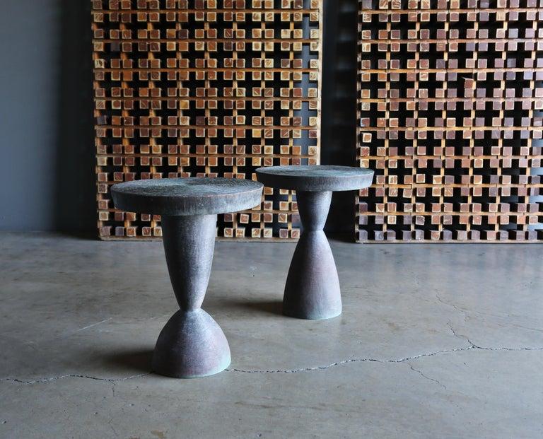 Tom Corbin Bronze Alexandra Occasional Tables 7