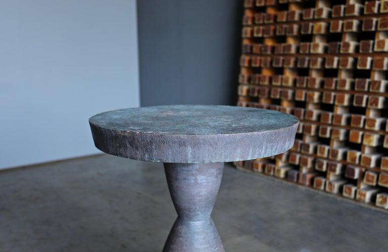 American Tom Corbin Bronze Alexandra Occasional Tables