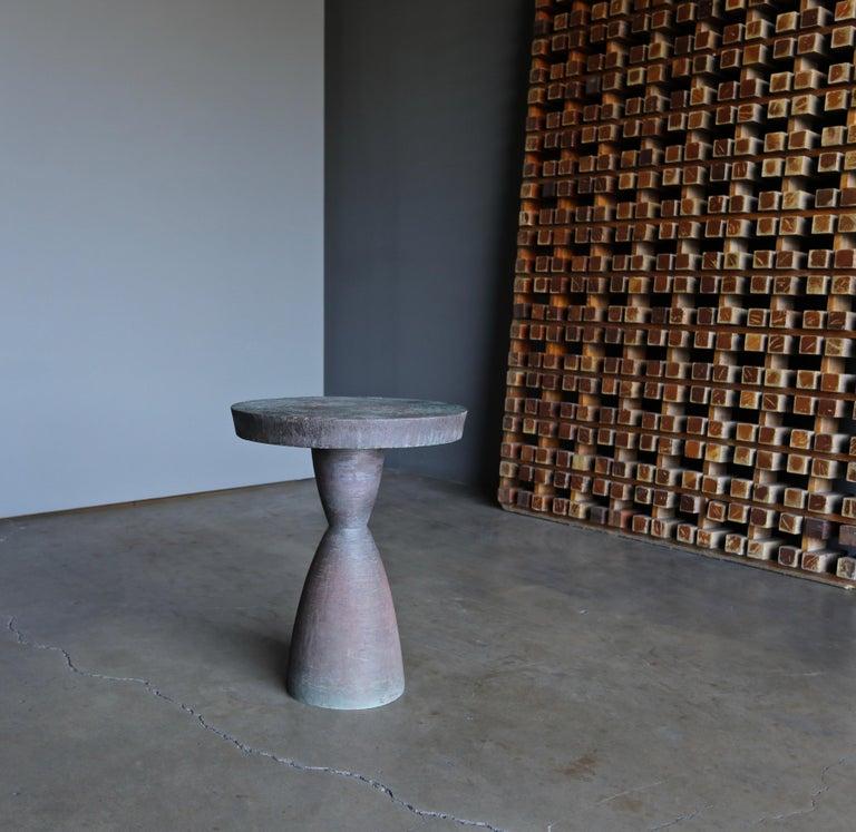 Tom Corbin Bronze Alexandra Occasional Tables 1