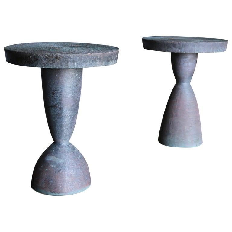 Tom Corbin Bronze Alexandra Occasional Tables