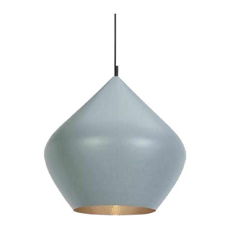Tom Dixon Beat Stout Pendant Light Fixture, Gray, Modern Lighting, UK