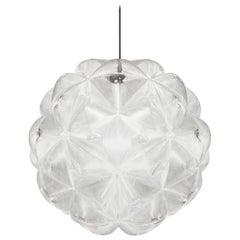 Tom Dixon Lens Pendant Fixture, Spherical Ceiling Light, Globe Chandelier, 2019