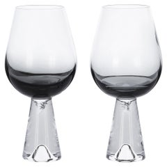 Tom Dixon Tank Wine Glasses Black, Set of 6