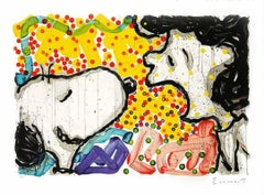 """Tom Everhart, Original Lithograph """"Drama Queen"""" Signed and numbered"""