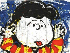"""Tom Everhart, Original Lithograph """"No Apologies"""" Signed and numbered"""