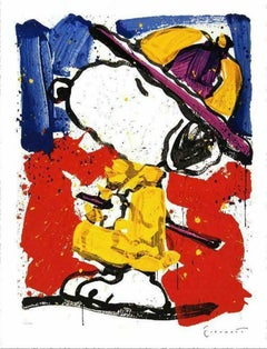 """Tom Everhart, """"Prada Puss 2000"""" Lithograph Signed and numbered"""