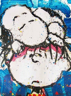 """Tom Everhart """"Sleepyhead"""" Hand Signed & Numbered Limited Edition Lithograph"""