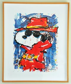 "Tom Everhart ""Undercover in Hollywood"", limited edition lithograph"