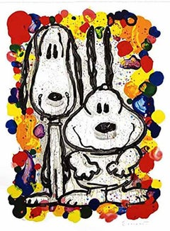 """Tom Everhart, """"Wait Watchers 2000"""" Lithograph Signed and numbered"""