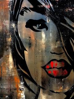 Fine Again, Painting, Acrylic on Canvas
