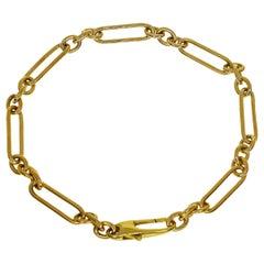 Tom Ford 18 Karat Yellow Gold Chain Bracelet