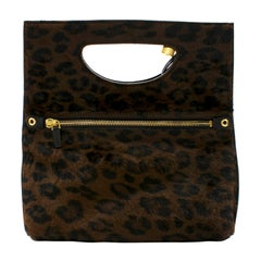 Tom Ford Alix Calf-hair Foldable Tote