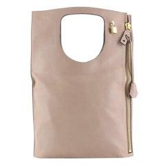Tom Ford Alix Fold Over Bag Leather Large