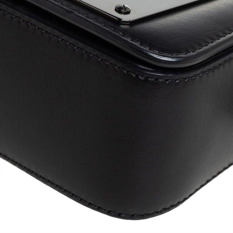 Tom Ford Black Leather Mini Natalia Chain Shoulder Bag For Sale 1