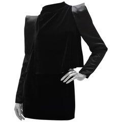 Tom Ford Black Velvet Mini Dress