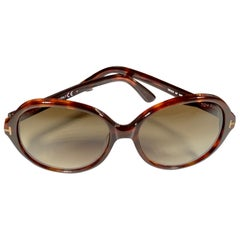Tom Ford Brand New TF 216 AF 54F 59 16 140 Brown Women Sunglasses, Made in Italy
